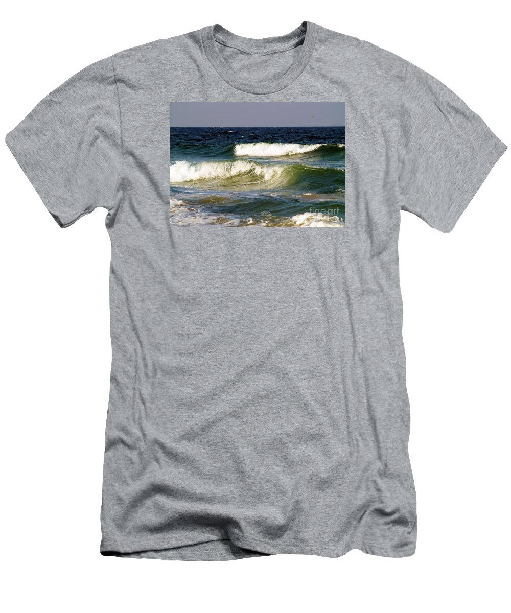 Fine Art Print Men's T-Shirt (Athletic Fit) featuring the photograph Aftermath Of A Storm by Patricia Griffin Brett