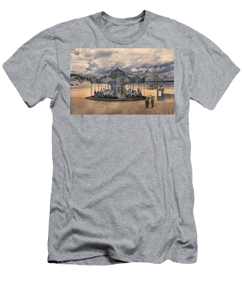 Carousel Mixed Media T-Shirts