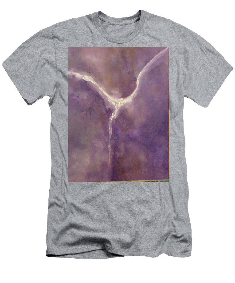 Angel Men's T-Shirt (Athletic Fit) featuring the painting Angel II by Lord Frederick Lyle Morris