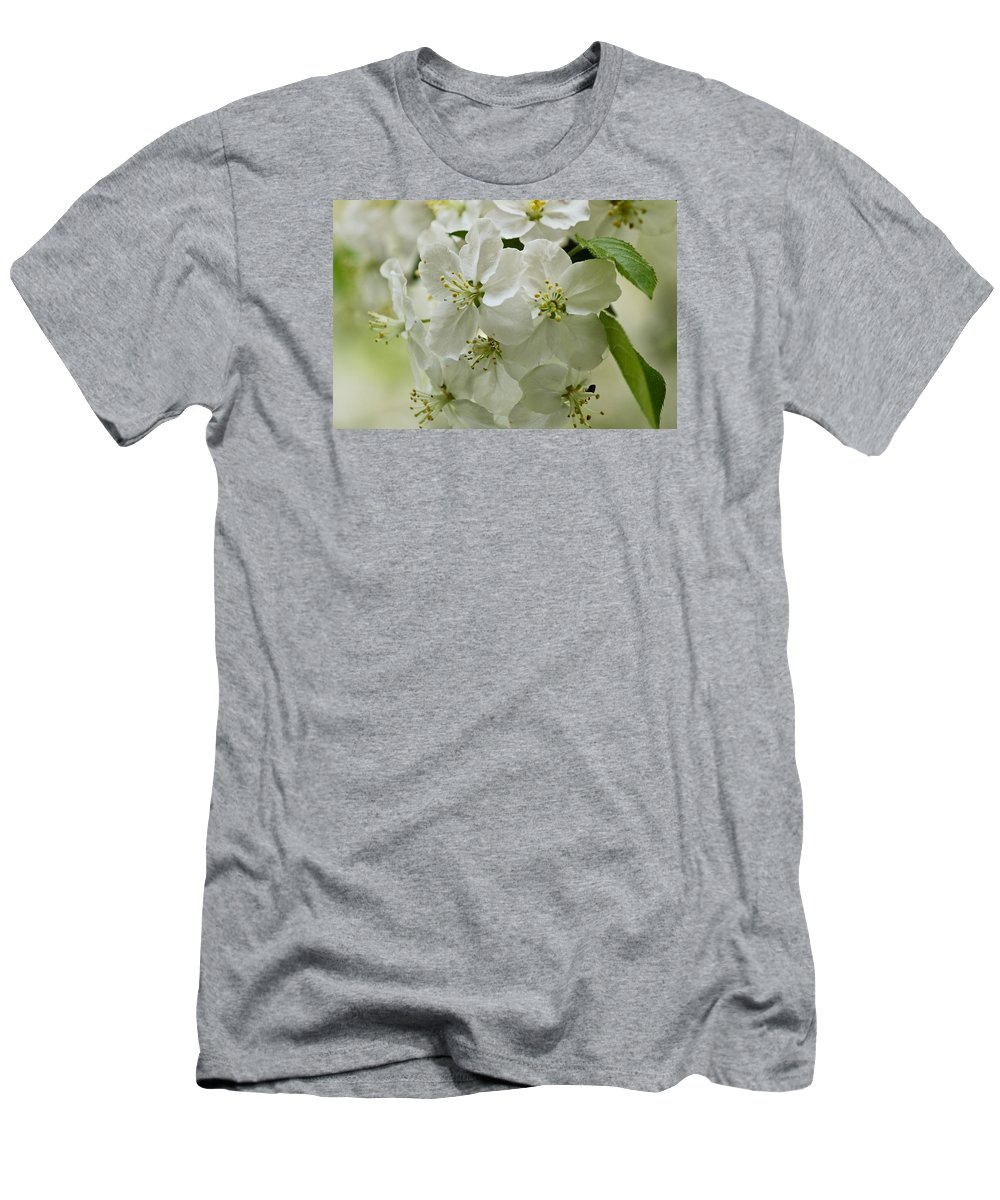 Flower Men's T-Shirt (Athletic Fit) featuring the photograph Angelic Blossom by Julie Andel