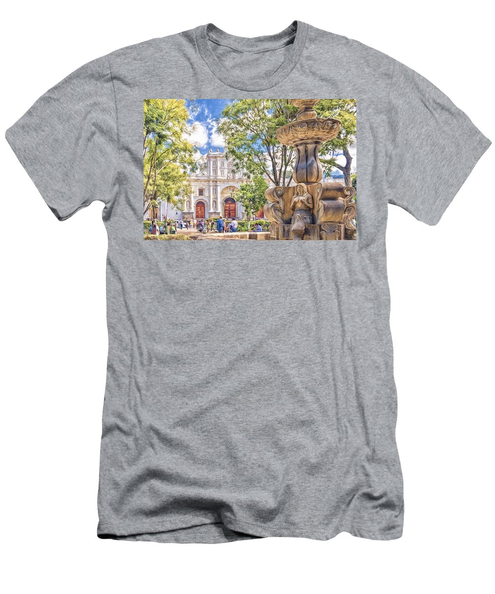 Antigua Men's T-Shirt (Athletic Fit) featuring the photograph Antigua by Maria Coulson