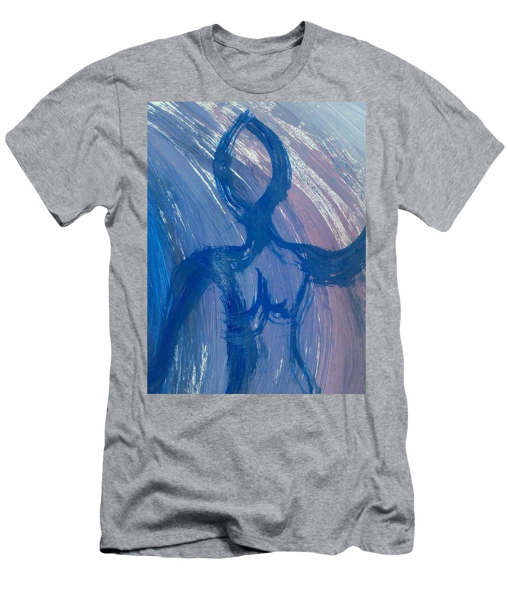 Woman Men's T-Shirt (Athletic Fit) featuring the photograph Art Therapy 16 by Michele Monk
