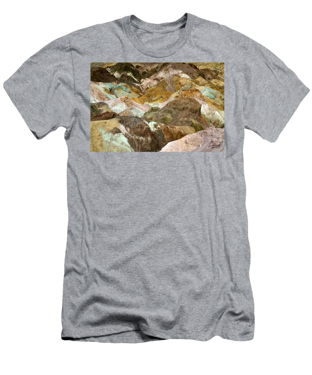 California Men's T-Shirt (Athletic Fit) featuring the photograph Artists Palette by Ed Riche