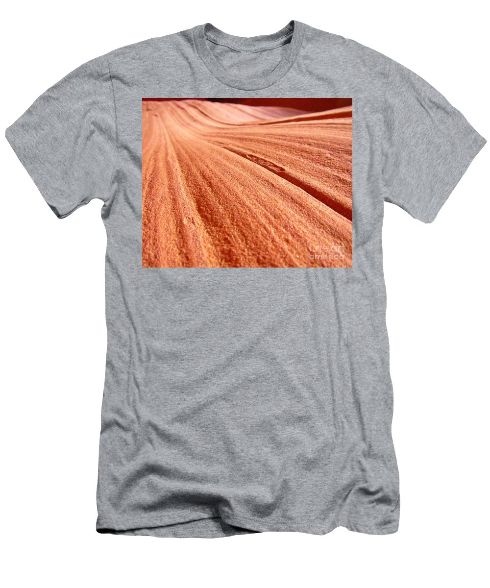 Beautiful Canyons Men's T-Shirt (Athletic Fit) featuring the photograph As Far As The Eye Can See by John Malone
