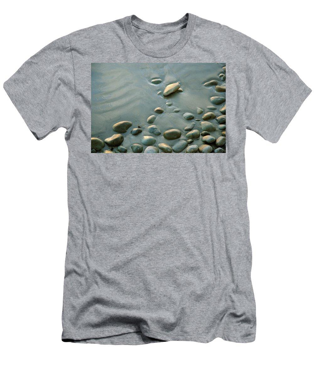 Baja Men's T-Shirt (Athletic Fit) featuring the photograph Baja California Rt 1 Coast 6 by Jeff Brunton