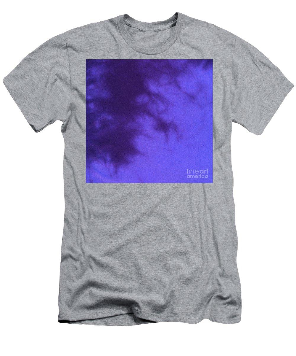 Batik Men's T-Shirt (Athletic Fit) featuring the tapestry - textile Batik In Purple Shades by Kerstin Ivarsson