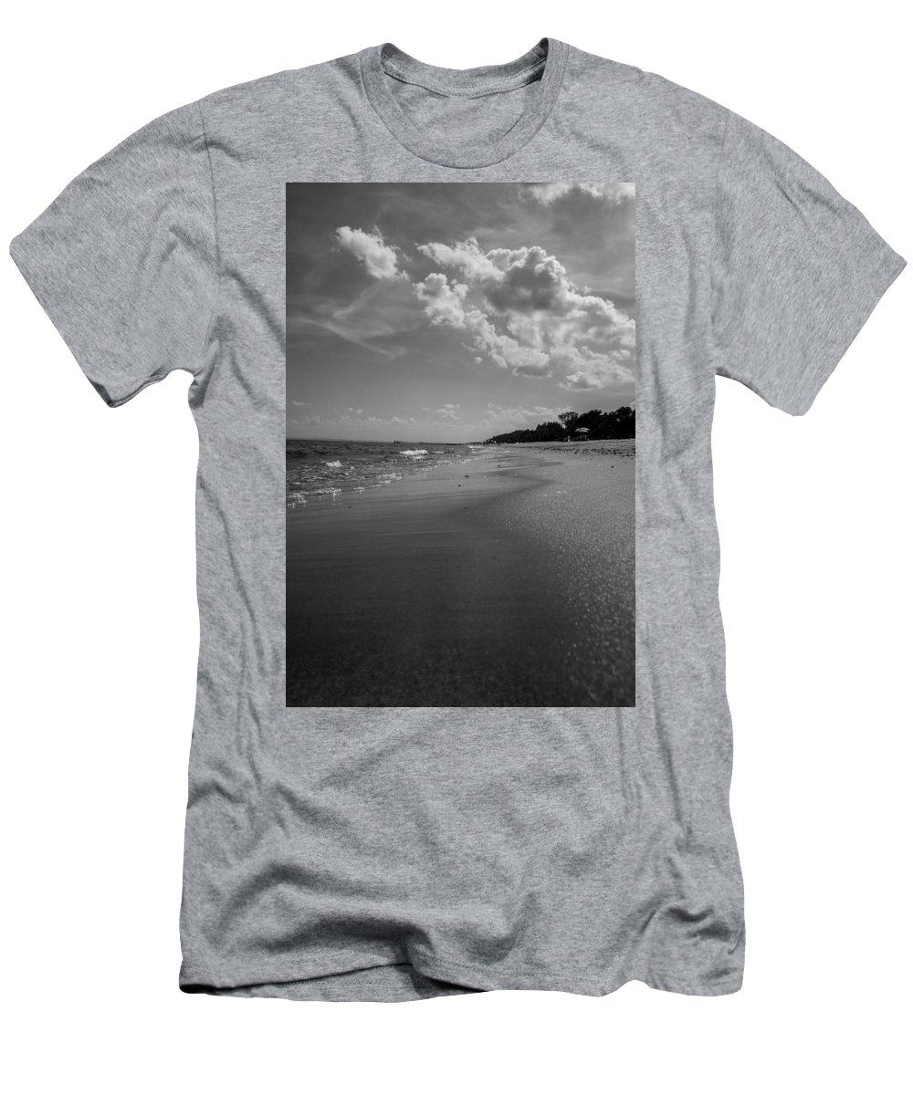 Beach Men's T-Shirt (Athletic Fit) featuring the photograph Beach by Valeriy Shvetsov