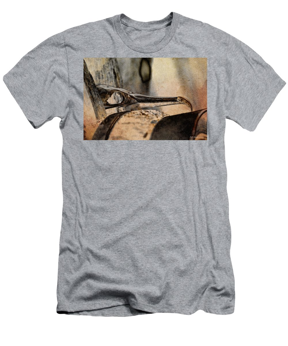 Men's T-Shirt (Athletic Fit) featuring the photograph Beak by WB Johnston