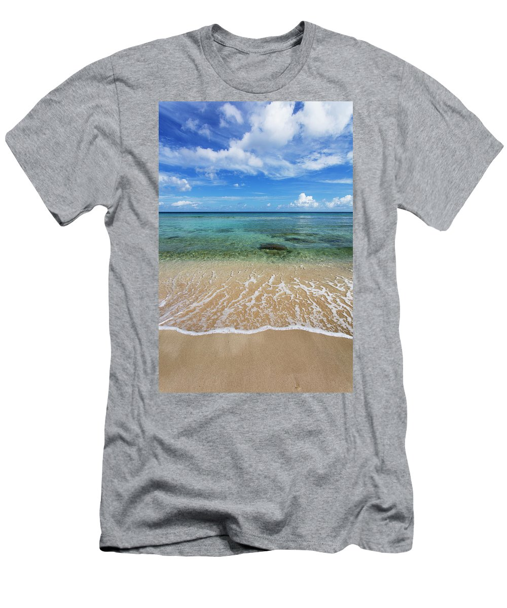 Beach T-Shirt featuring the photograph Beautiful And Calm Cane Bay St. Croix by Jenna Szerlag