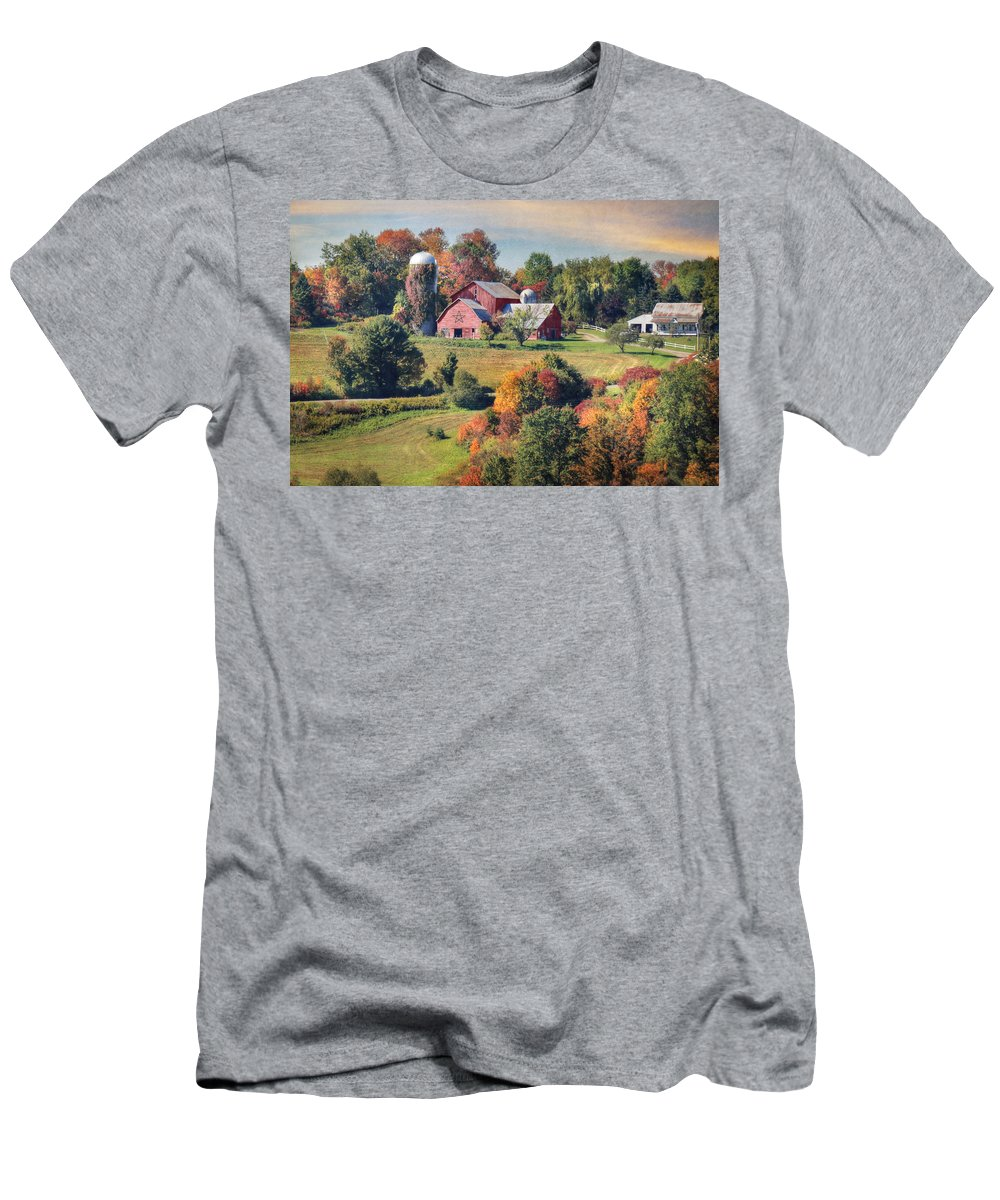 Autumn Men's T-Shirt (Athletic Fit) featuring the photograph Behold The Beauty by Lori Deiter