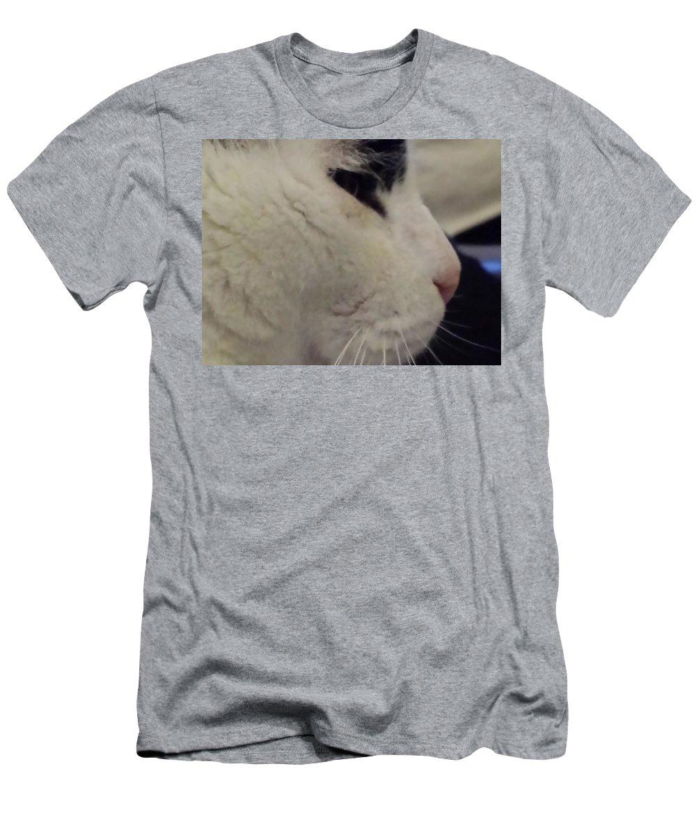 Men's T-Shirt (Athletic Fit) featuring the photograph Bianconero by Tila Gun