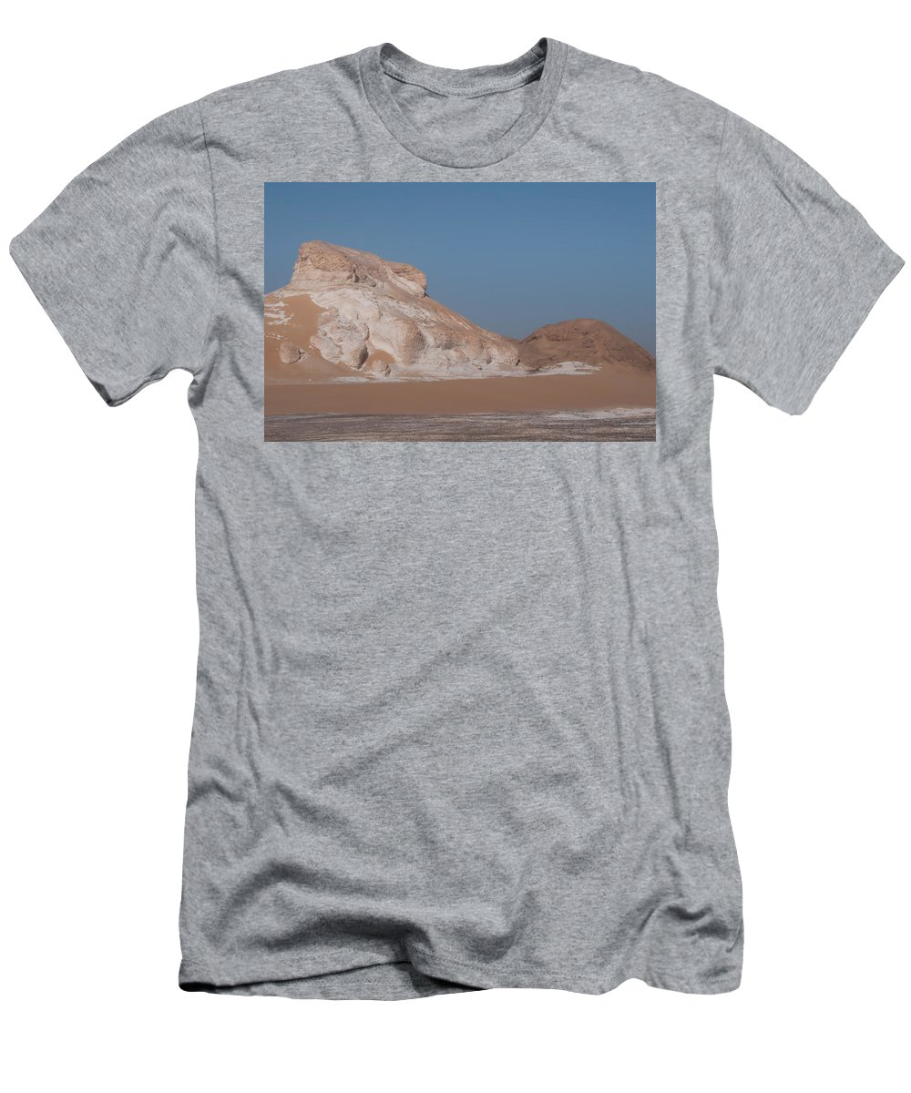 Egypt Desert Men's T-Shirt (Athletic Fit) featuring the digital art Black Desert by Carol Ailles