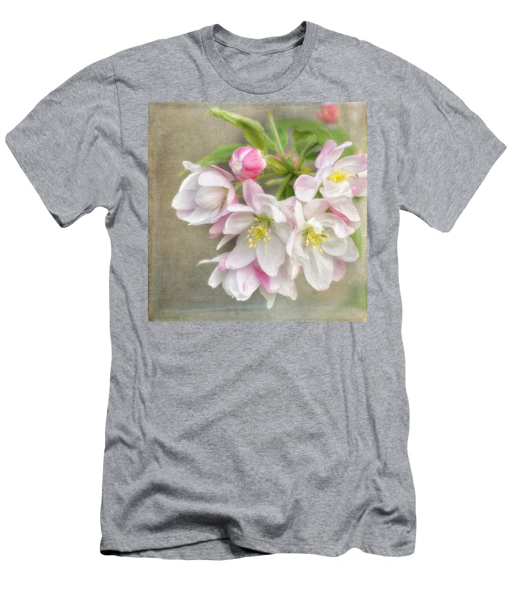 Cherry Blossom Men's T-Shirt (Athletic Fit) featuring the photograph Blossom Festival by Kim Hojnacki