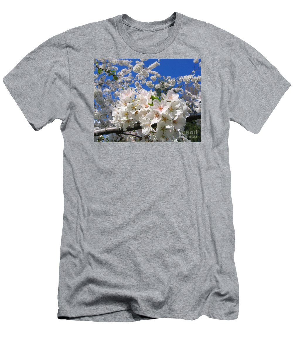 Spring Men's T-Shirt (Athletic Fit) featuring the photograph Blossoms Of Spring by Ann Horn