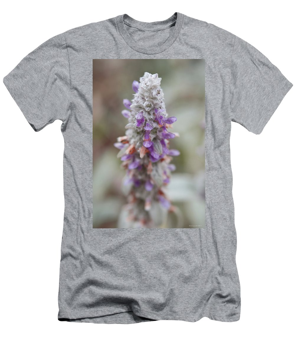 Flowers Men's T-Shirt (Athletic Fit) featuring the photograph Blumen by Miguel Winterpacht