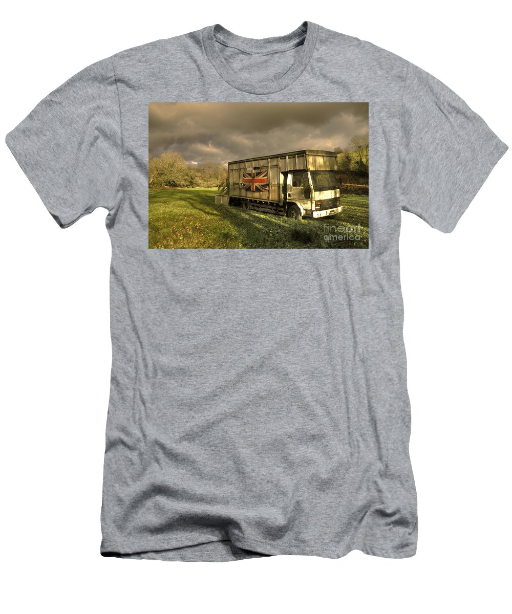 Ford Men's T-Shirt (Athletic Fit) featuring the photograph British Cargo by Rob Hawkins