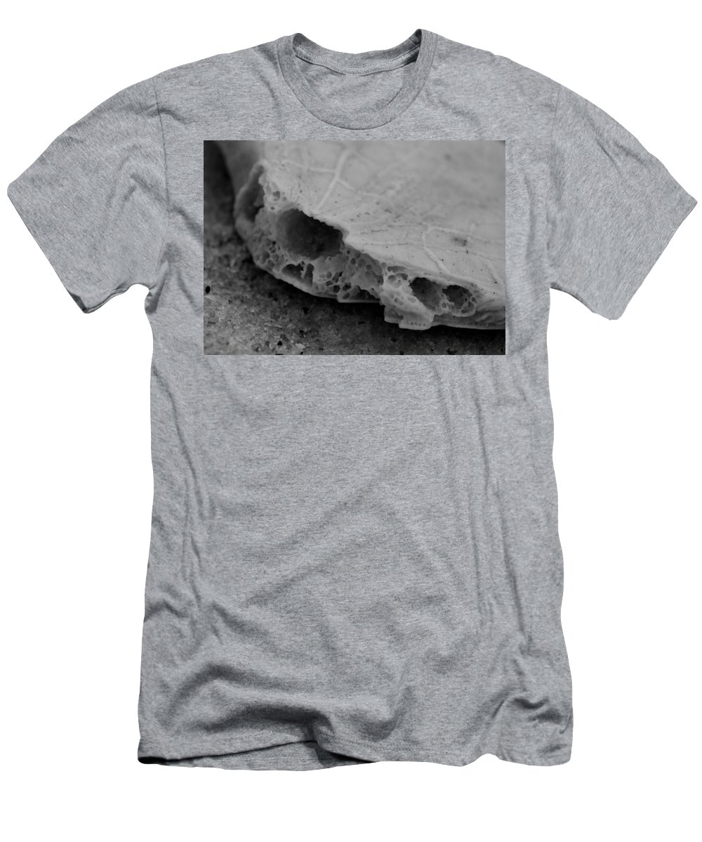 Digital Photograph Men's T-Shirt (Athletic Fit) featuring the photograph Broken Piece by Laurie Pike