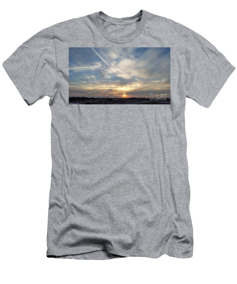 Raymond Men's T-Shirt (Athletic Fit) featuring the photograph Cacophony by Caryl J Bohn
