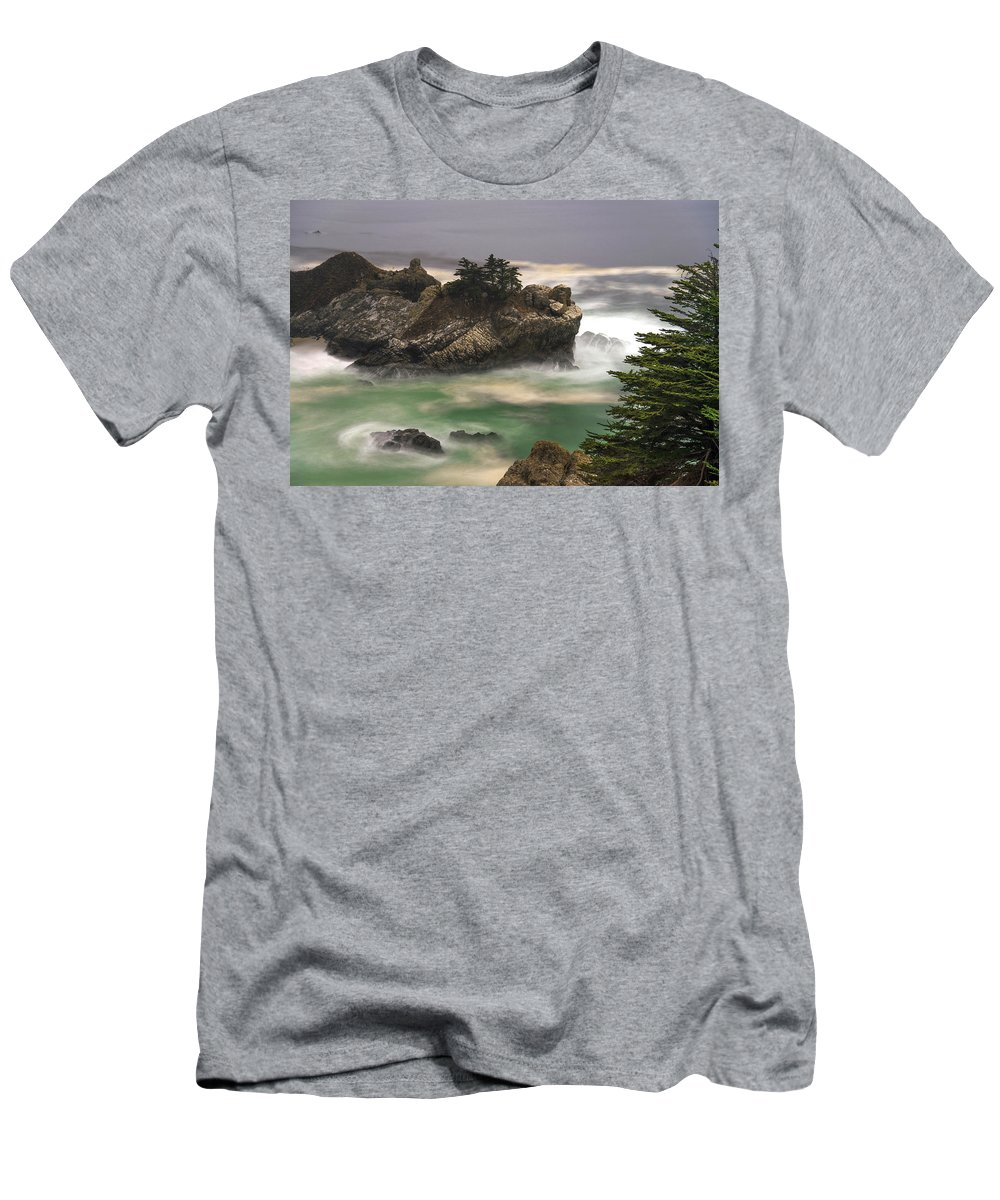 California Men's T-Shirt (Athletic Fit) featuring the photograph California Coast by Dustin LeFevre