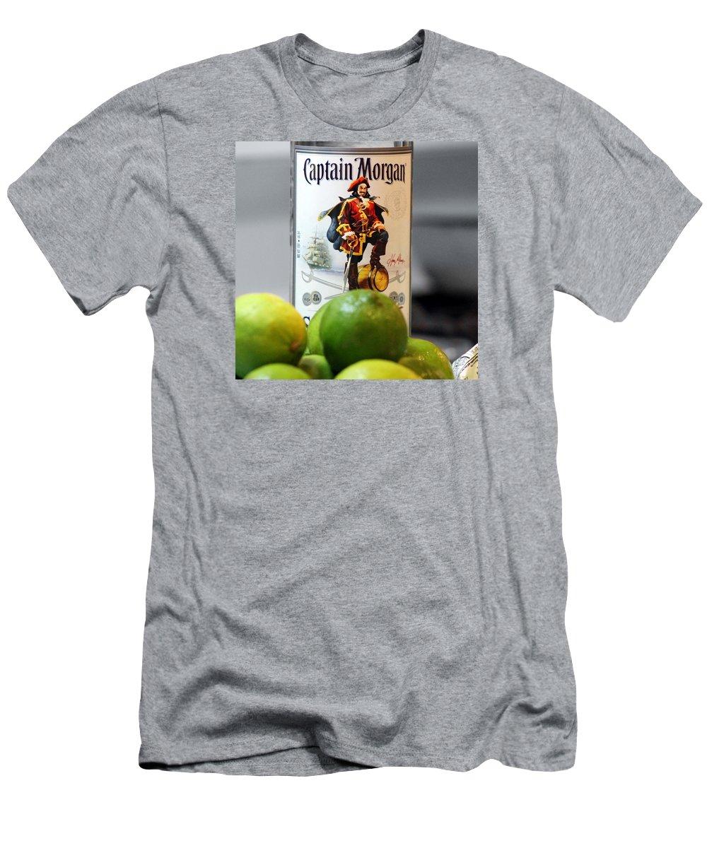 Captain Morgan Men's T-Shirt (Athletic Fit) featuring the photograph Captain Morgan by Wendy Gertz