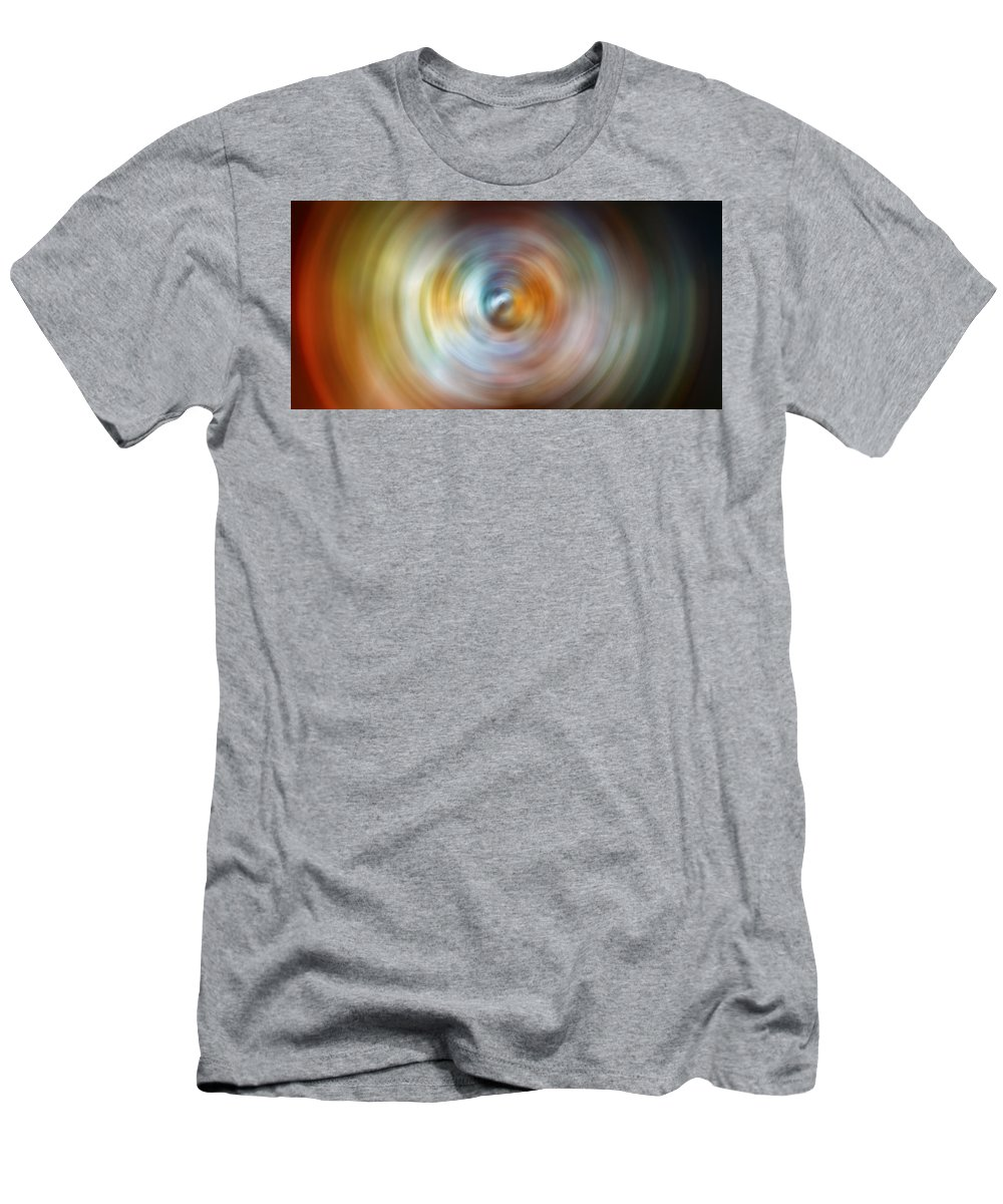 Universe Men's T-Shirt (Athletic Fit) featuring the photograph Carina Nebula Spin Art by Jennifer Rondinelli Reilly - Fine Art Photography