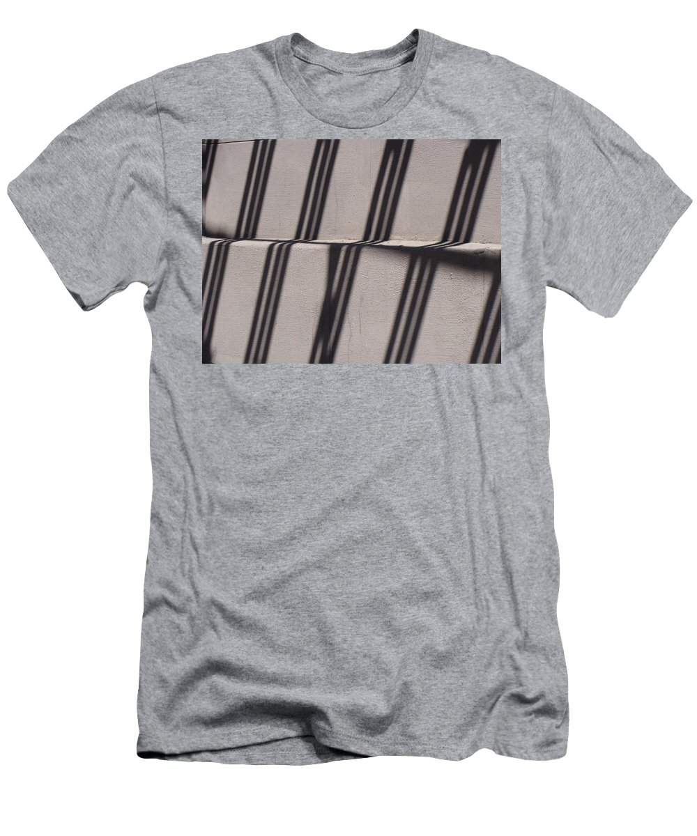 Shadows Men's T-Shirt (Athletic Fit) featuring the photograph Cascades by Ira Shander