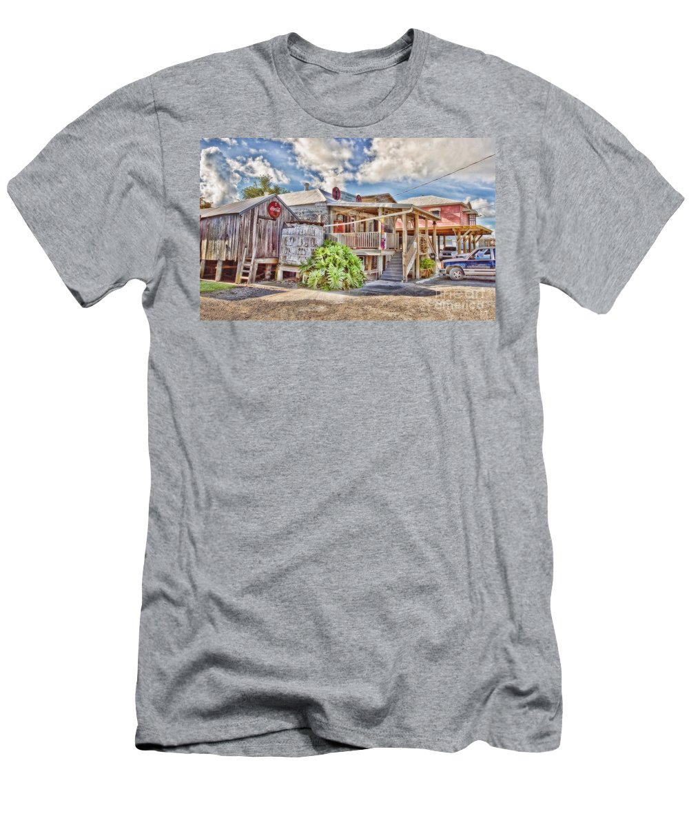 Grocery Store Men's T-Shirt (Athletic Fit) featuring the photograph Cecil's Grocery by Scott Pellegrin