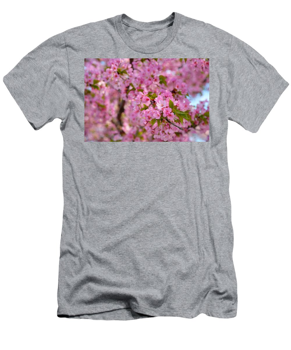 Architectural Men's T-Shirt (Athletic Fit) featuring the photograph Cherry Blossoms 2013 - 096 by Metro DC Photography