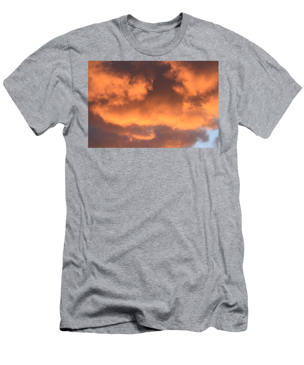 Clouds Men's T-Shirt (Athletic Fit) featuring the photograph Clouds 1 by Robert Phelan