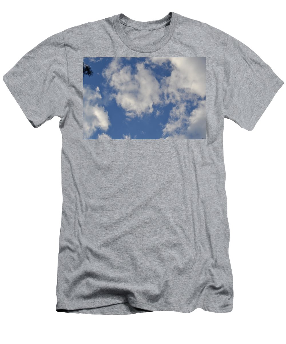 Cloud Men's T-Shirt (Athletic Fit) featuring the photograph Clouds 8 by Tara Potts