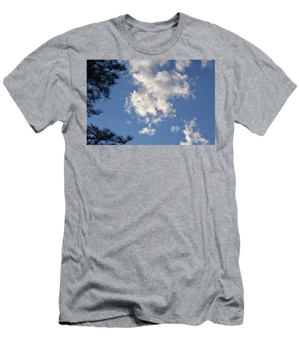 Cloud Men's T-Shirt (Athletic Fit) featuring the photograph Clouds 9 by Tara Potts