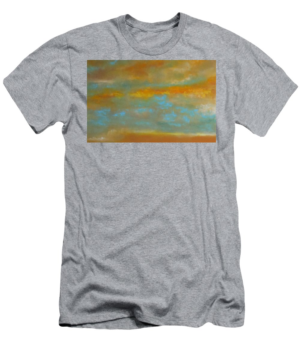 Abstract Men's T-Shirt (Athletic Fit) featuring the painting Clouds by Lord Frederick Lyle Morris - Disabled Veteran