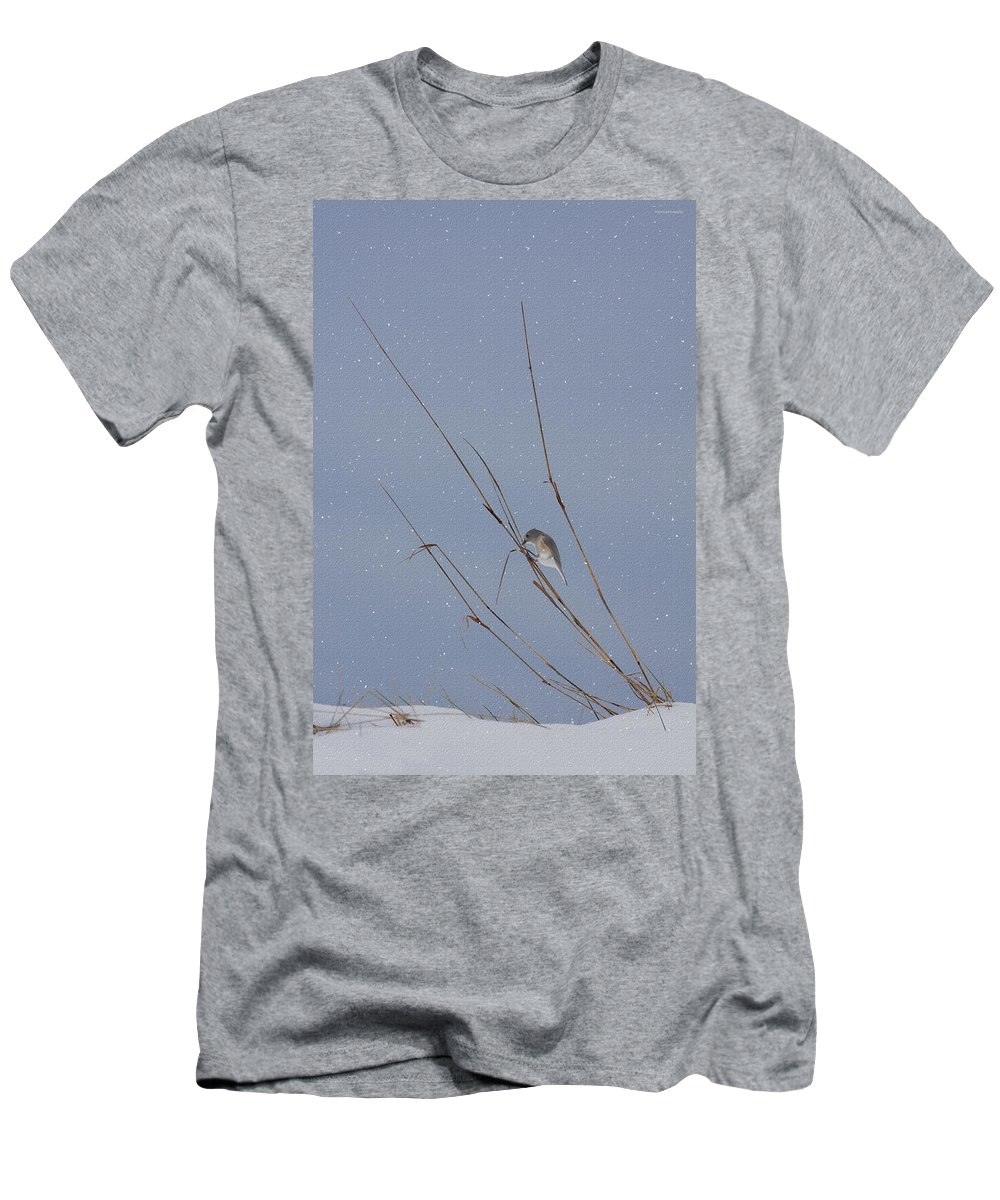 Ron Jones Men's T-Shirt (Athletic Fit) featuring the photograph Crystal Mornings by Ron Jones