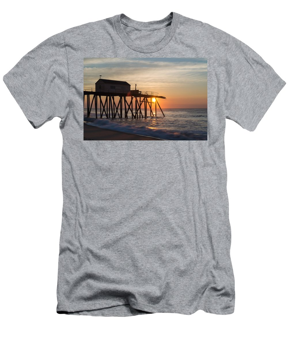 New Jersey Men's T-Shirt (Athletic Fit) featuring the photograph Damaged by Kristopher Schoenleber