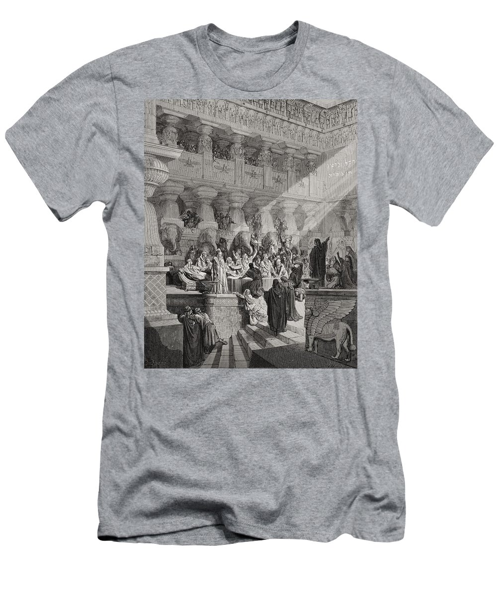 Writing On The Wall Paintings T-Shirts