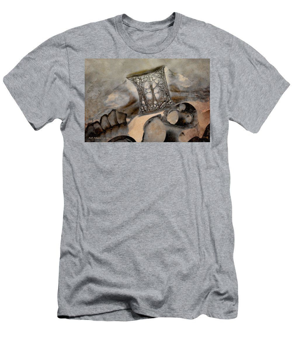 Shell Men's T-Shirt (Athletic Fit) featuring the photograph Debris 9b by WB Johnston