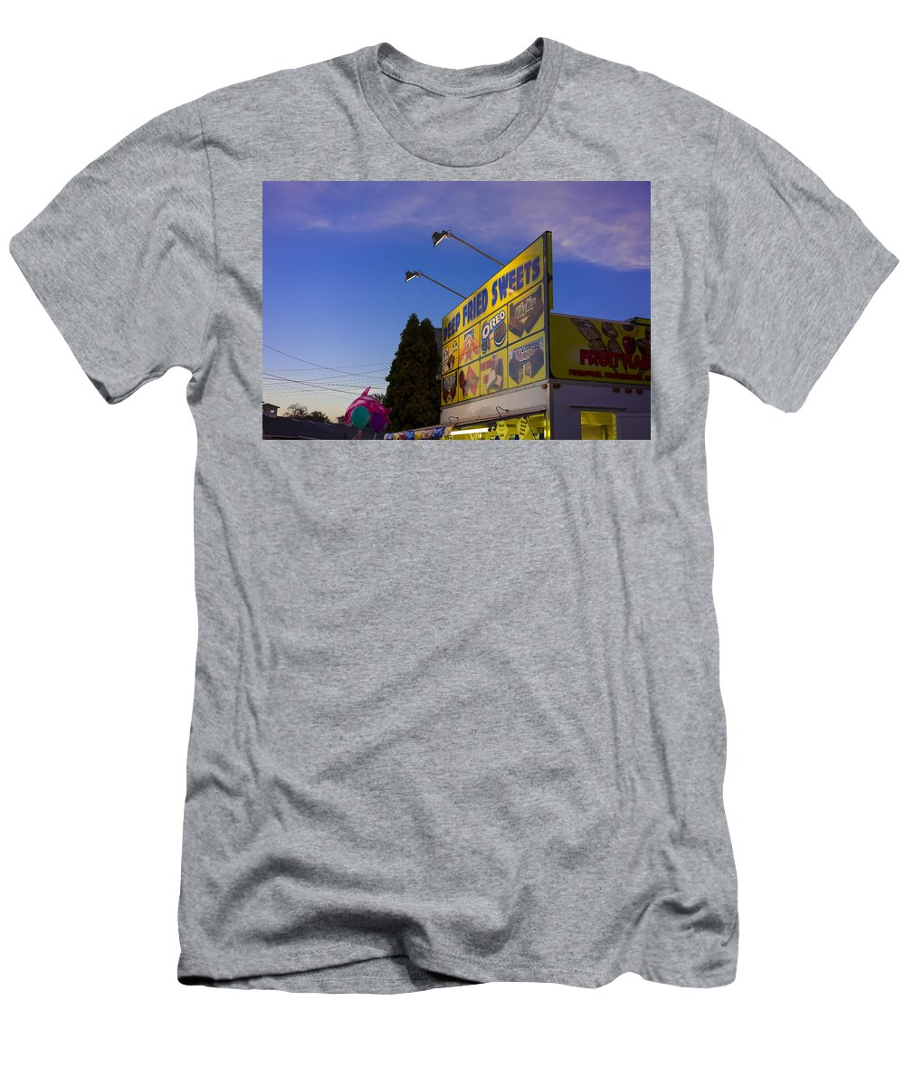 Fair Men's T-Shirt (Athletic Fit) featuring the photograph Deep Fried by David Stone