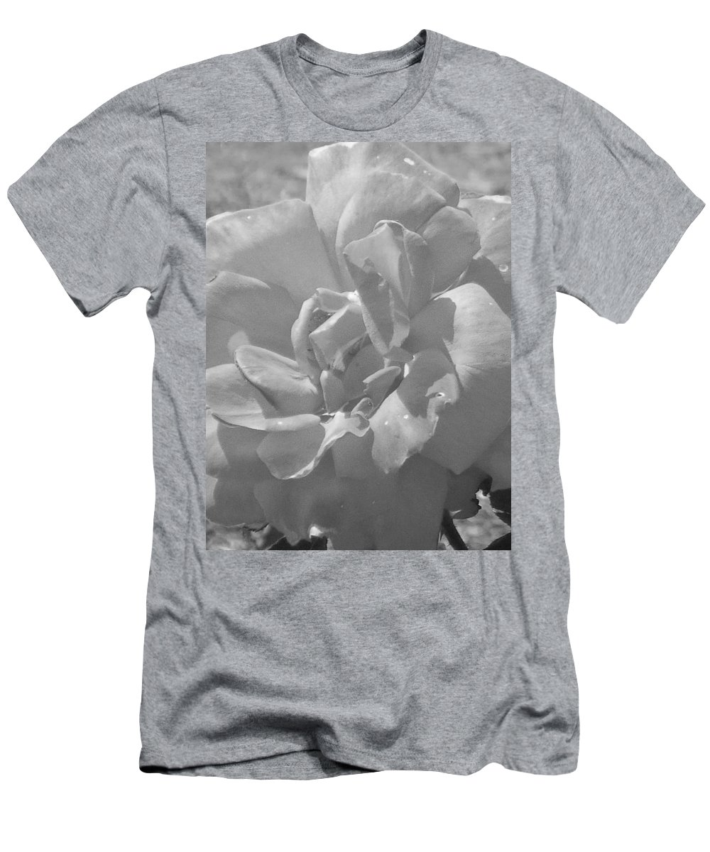 Rose Men's T-Shirt (Athletic Fit) featuring the photograph Dew Rose by Pharris Art