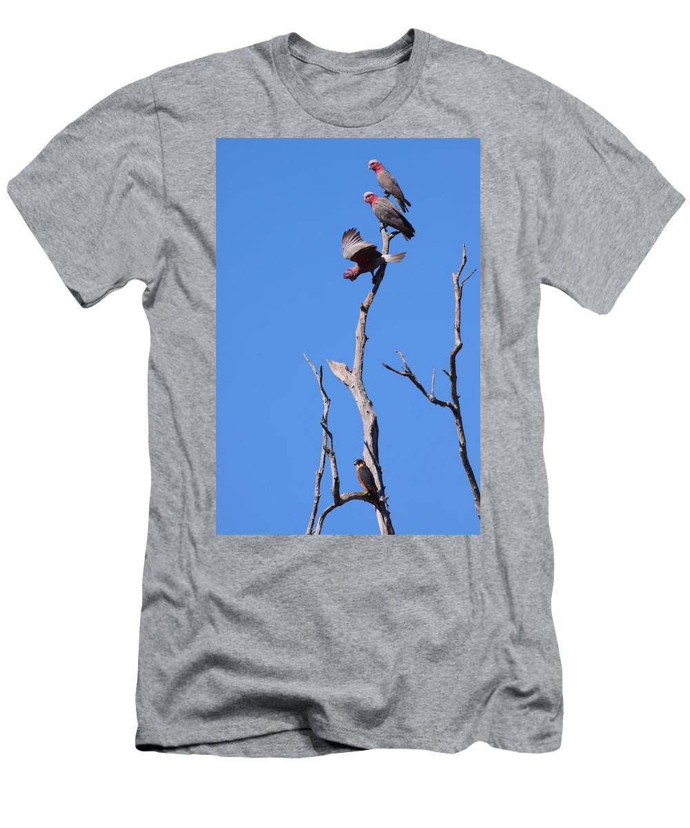 Hobby Men's T-Shirt (Athletic Fit) featuring the photograph Discontent by Bruce J Robinson