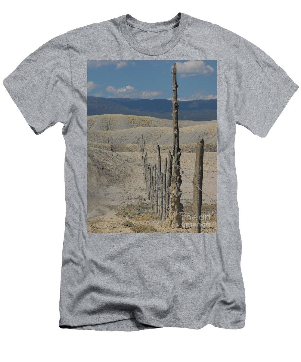 Landscape Men's T-Shirt (Athletic Fit) featuring the photograph Dobies by Brandi Maher