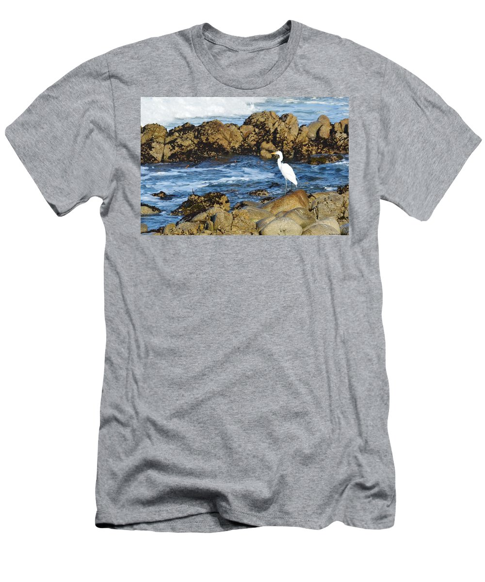 Barbara Snyder Men's T-Shirt (Athletic Fit) featuring the digital art Egert by Barbara Snyder