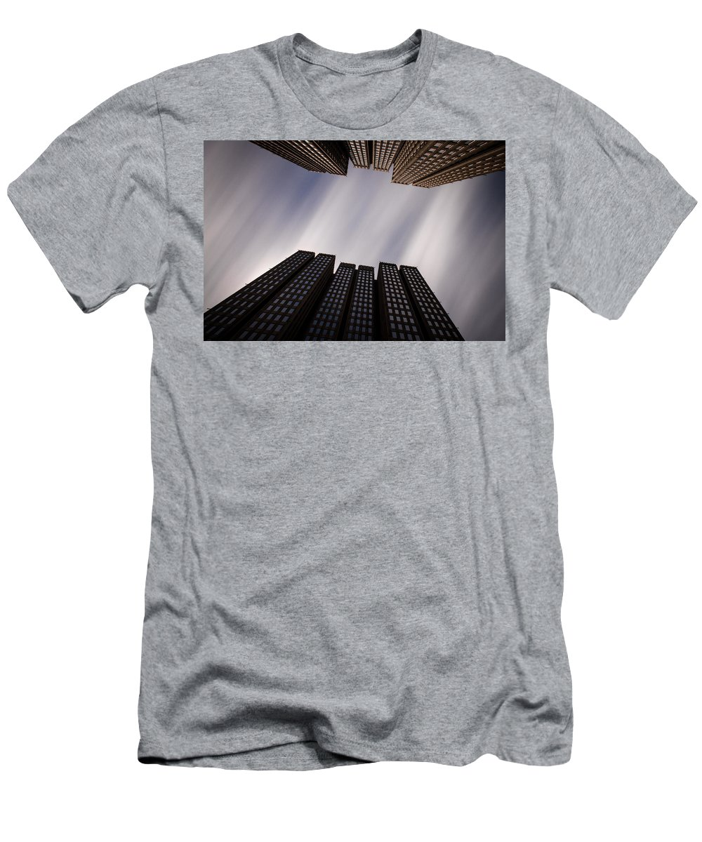 San Francisco Men's T-Shirt (Athletic Fit) featuring the photograph Emb 41 by Dayne Reast