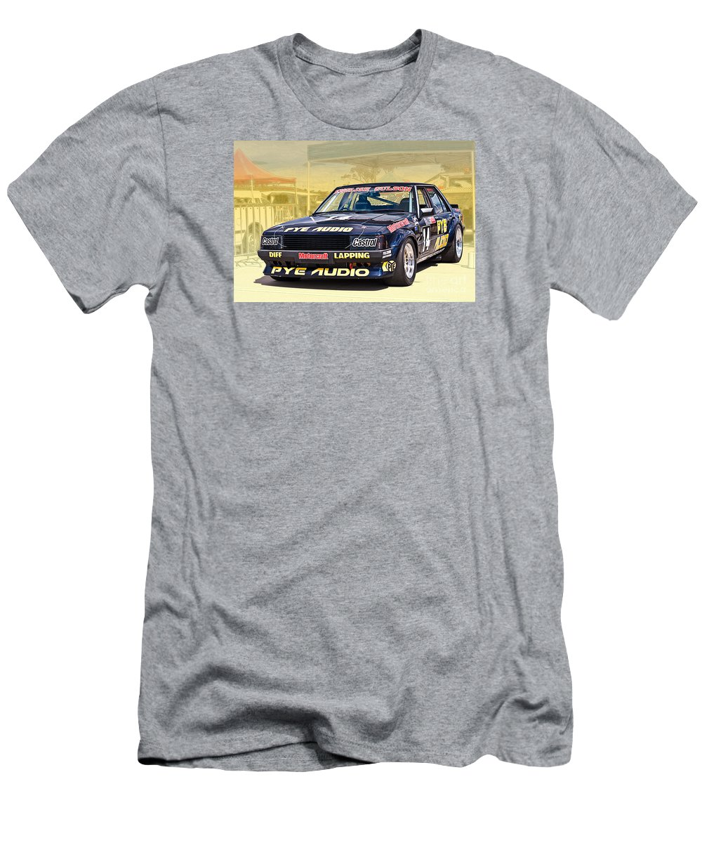 Ford Men's T-Shirt (Athletic Fit) featuring the photograph English Gulson Xd Falcon by Stuart Row