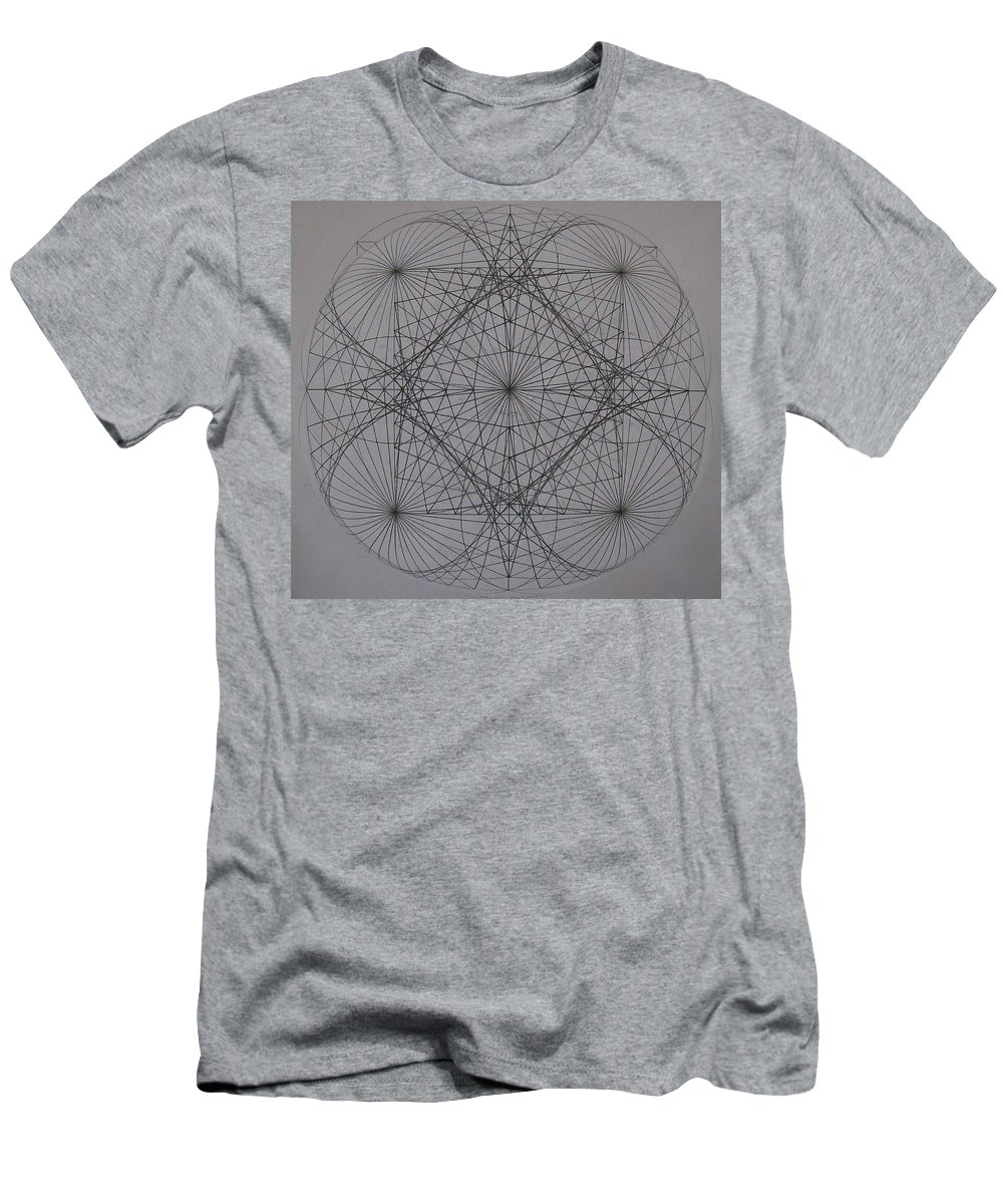 Event Horizon Men's T-Shirt (Athletic Fit) featuring the digital art Event Horizon by Jason Padgett