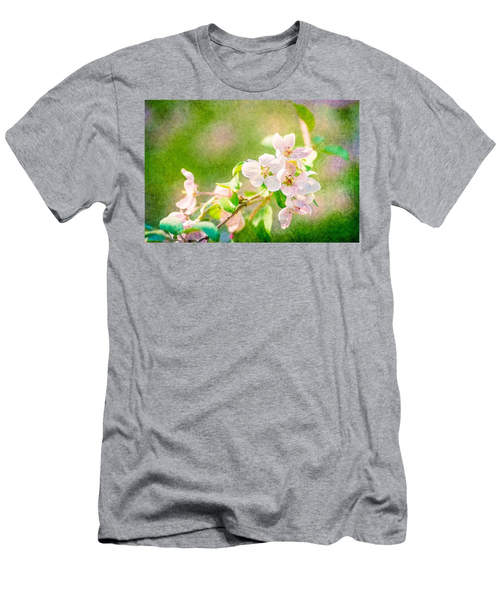 Flower Men's T-Shirt (Athletic Fit) featuring the photograph Feast Of Life 24 - Delight by Alexander Senin