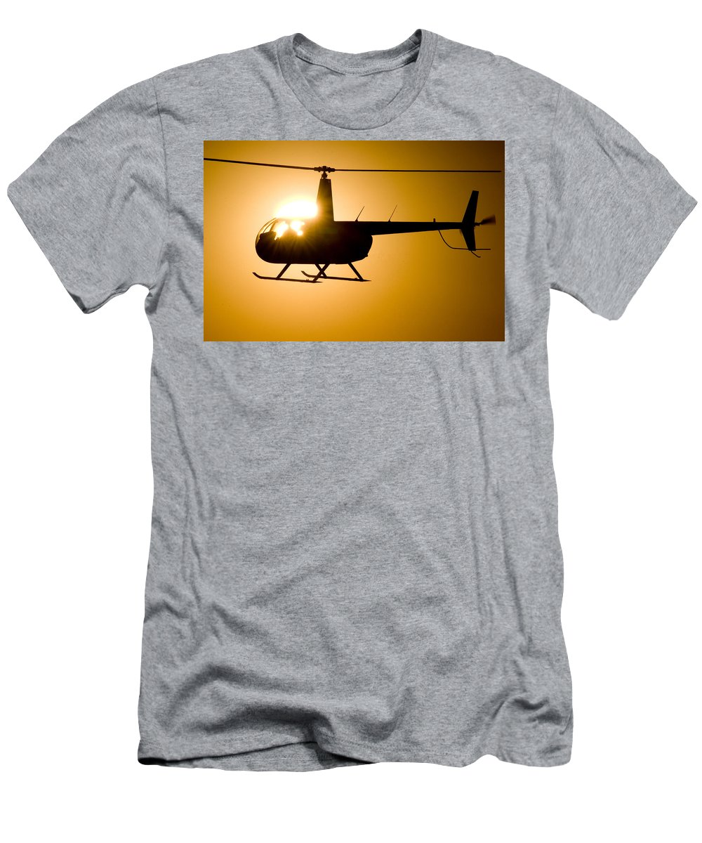 Sun Men's T-Shirt (Athletic Fit) featuring the photograph Flare by Paul Job