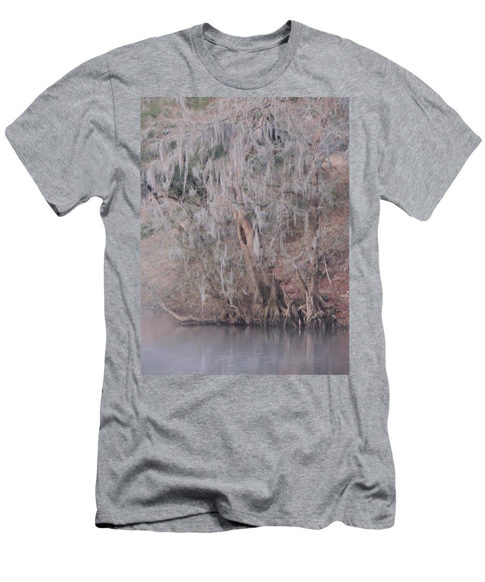 Digital Photo Men's T-Shirt (Athletic Fit) featuring the photograph Flint River 2 by Kim Pate