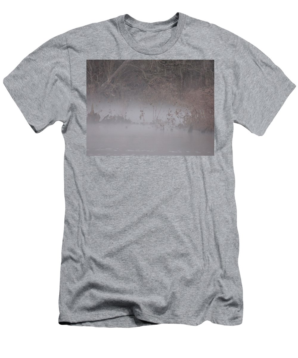 Digital Photo Men's T-Shirt (Athletic Fit) featuring the photograph Flint River 7 by Kim Pate