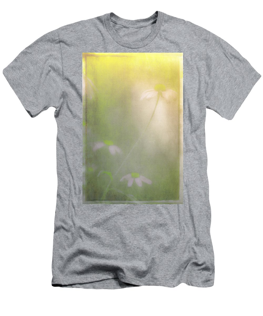 Flowers Men's T-Shirt (Athletic Fit) featuring the photograph Flowers In The Sunshine by Kim Henderson