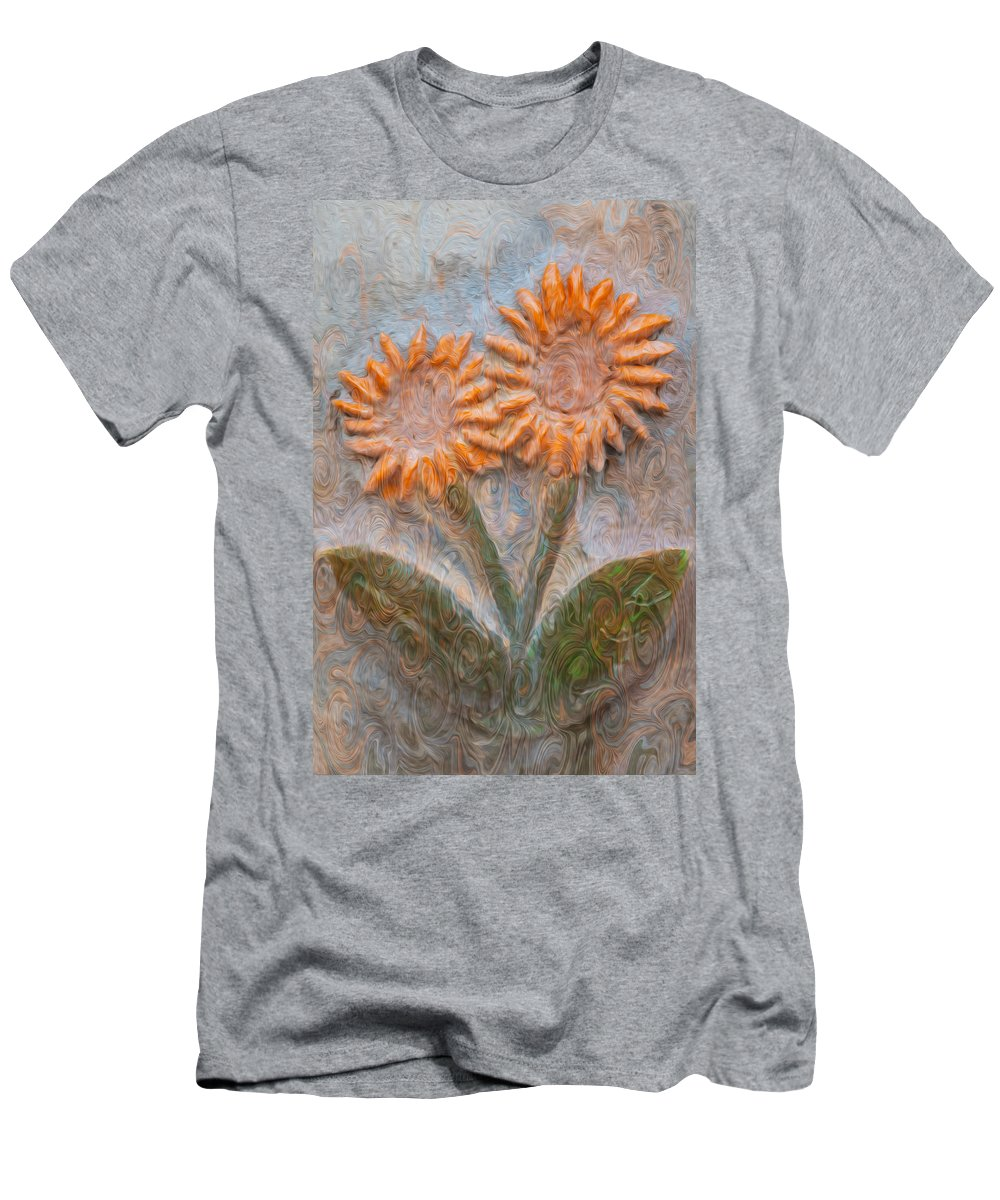 Georgia Okeefe Men's T-Shirt (Athletic Fit) featuring the painting Forever Loved by Omaste Witkowski